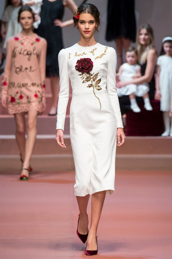Dolce & Gabbana 2015秋冬时装周系列秀场