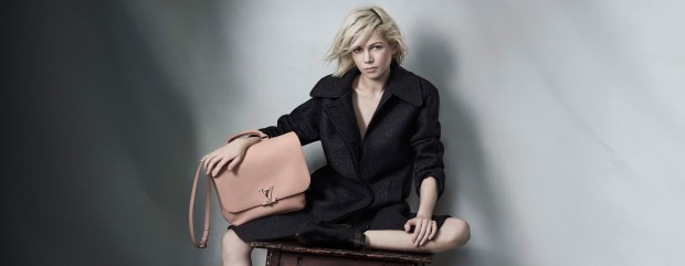 Michelle Williams演绎Louis Vuitton 2015春夏包袋系列万种风情高清图片