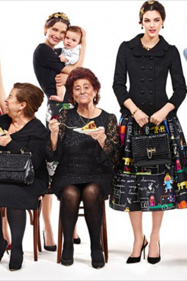 Dolce & Gabbana 2015秋冬�V告