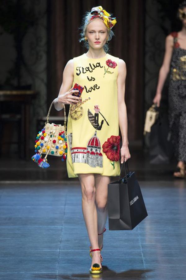Dolce & Gabbana 2016春夏系列米兰时装周