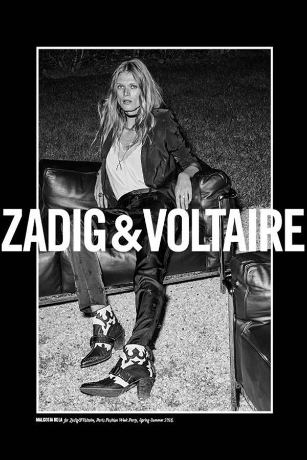 Zadig & Voltaire 2016春夏系列广告大片