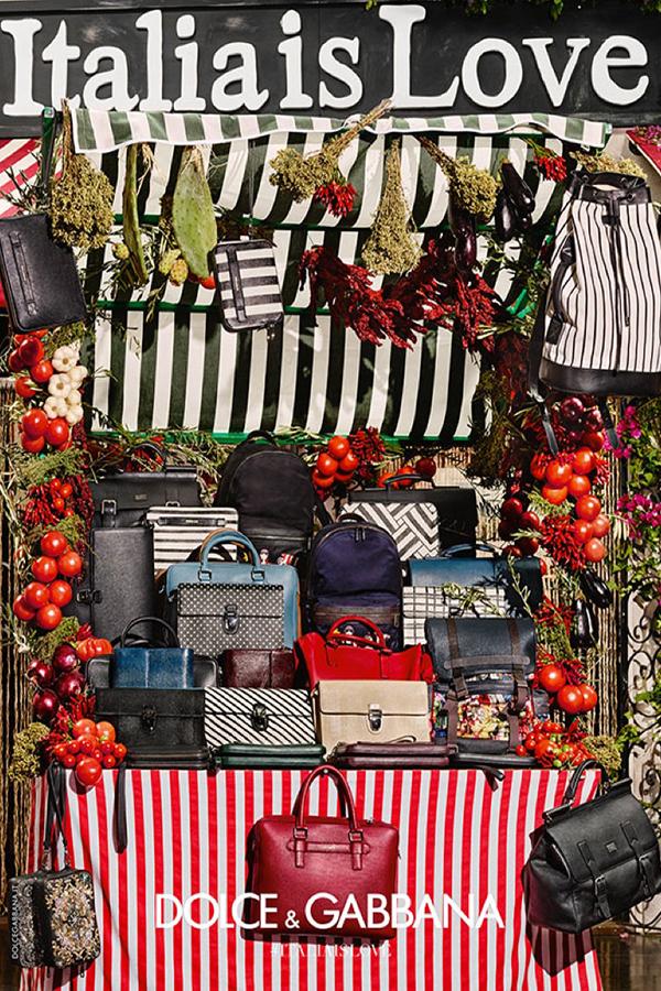 Dolce & Gabbana 2016春夏系列广告