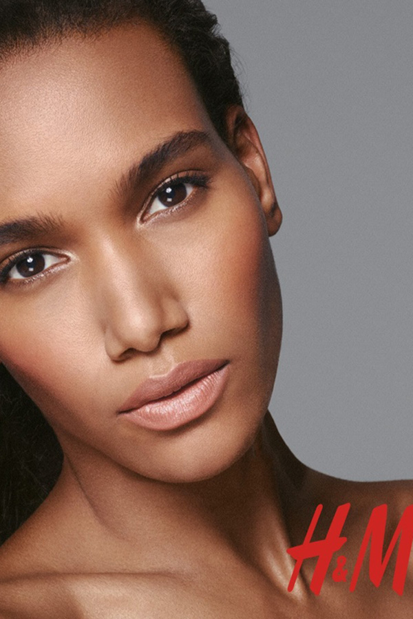 H&M 彩妆广告大片