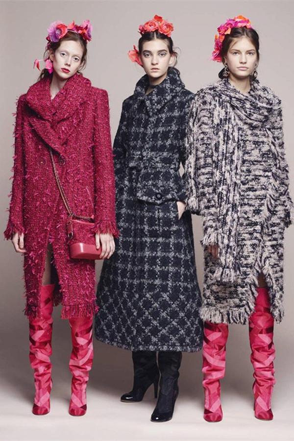 Chanel 2017早春系列LookBook