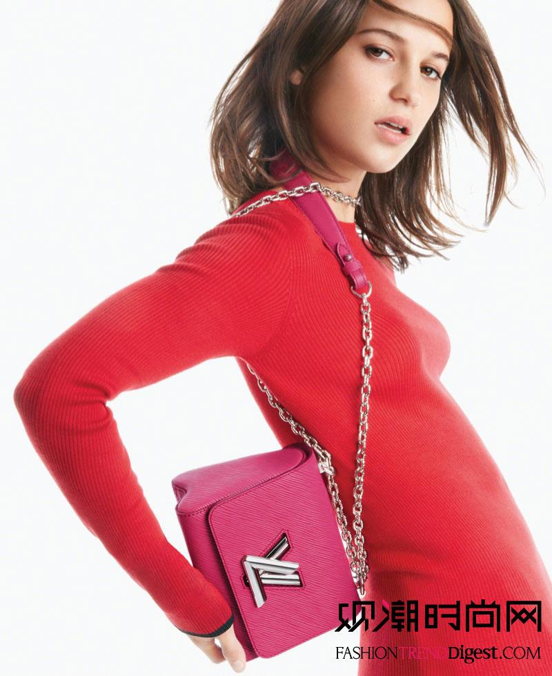 Louis Vuitton 2016春夏Twist bag系列广告大片高清图片