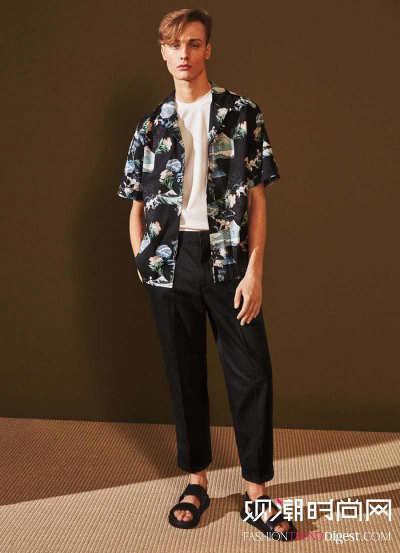 H&M 2016夏季最新男装系列LOOKBOOK高清图片