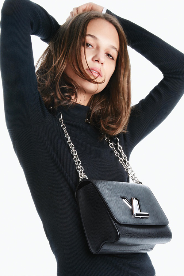 Louis Vuitton 2016春夏Twist bag系列广告大片