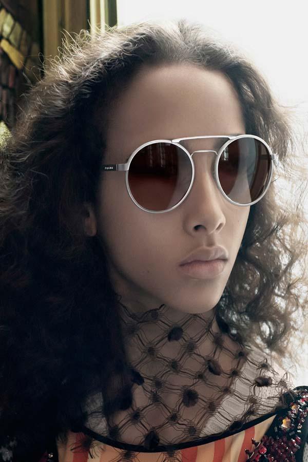 Prada 2016春夏眼镜系列广告