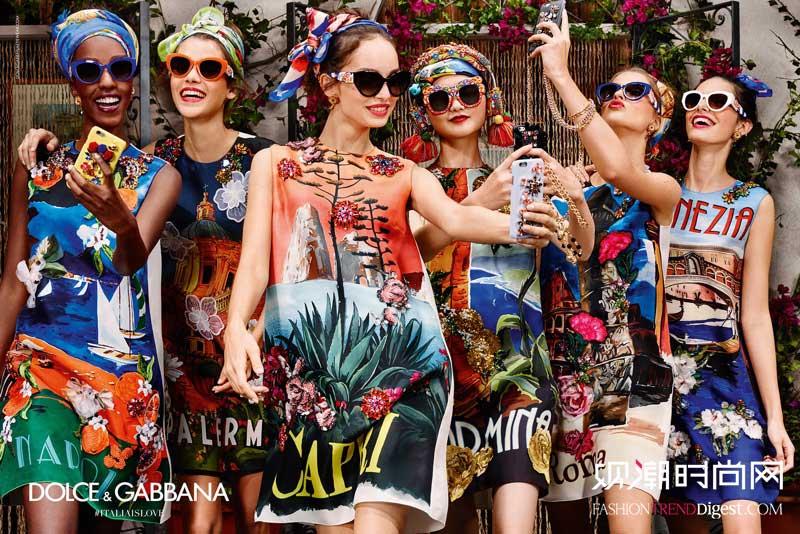 Dolce & Gabbana 2016春夏眼镜系列广告高清图片