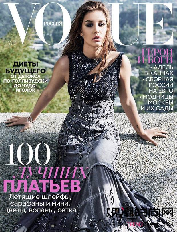 《vogue》2016年6月杂志封面高清图片