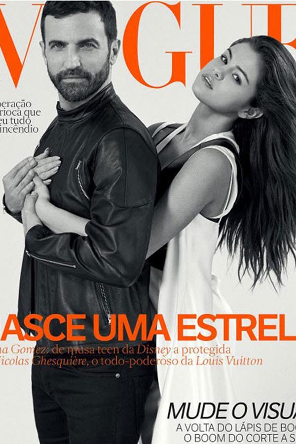 Selena Gomez携手Nicolas Ghesquiere演绎巴西版《VOGUE》2016年6月杂志封面