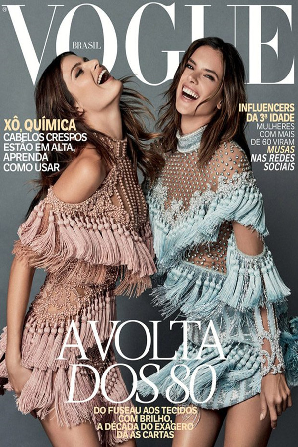Alessandra Ambrosio登上巴西版《VOGUE》2016年10月杂志封面