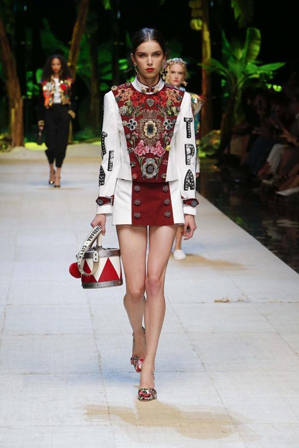 Dolce & Gabbana 2017春夏系列秀场