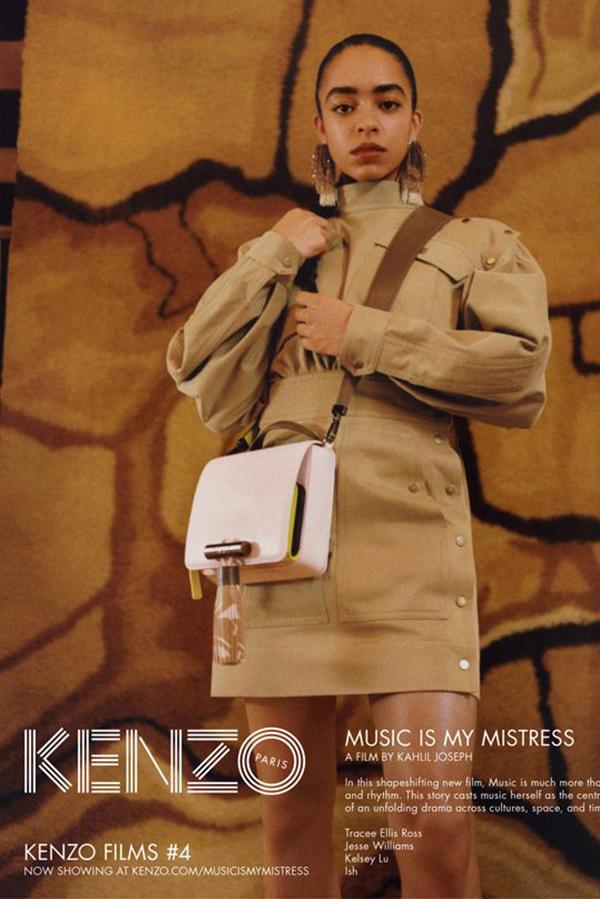Kenzo 2017春夏系列广告大片