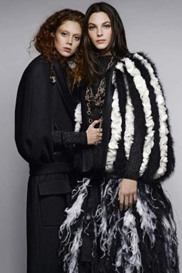 Natalie Westling、Vittoria Ceretti成为CHANEL新女孩