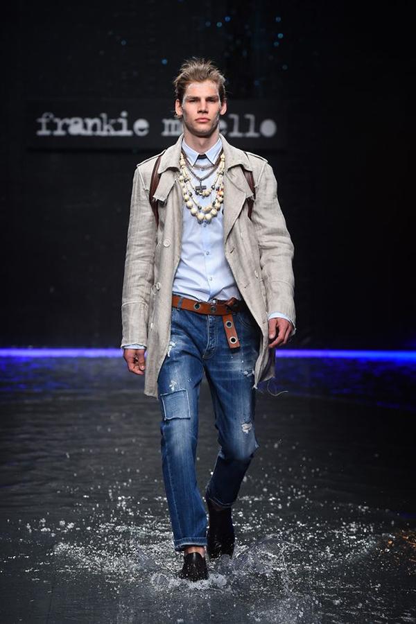 Frankie Morello 2018春夏系列秀场