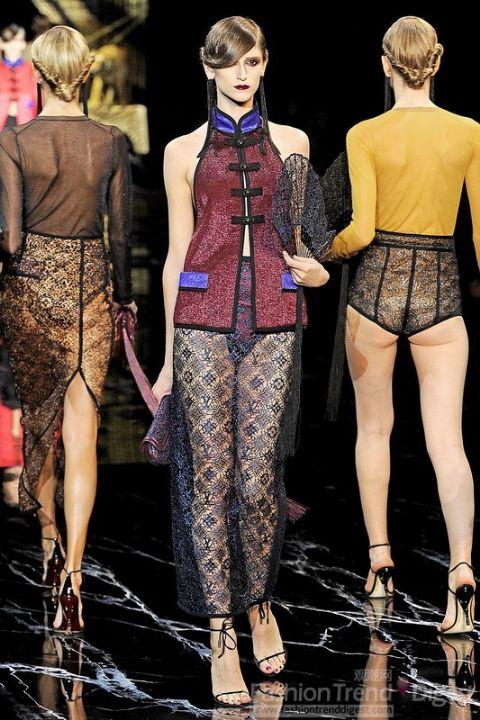 中国风- 路易威登2011春夏时装系列