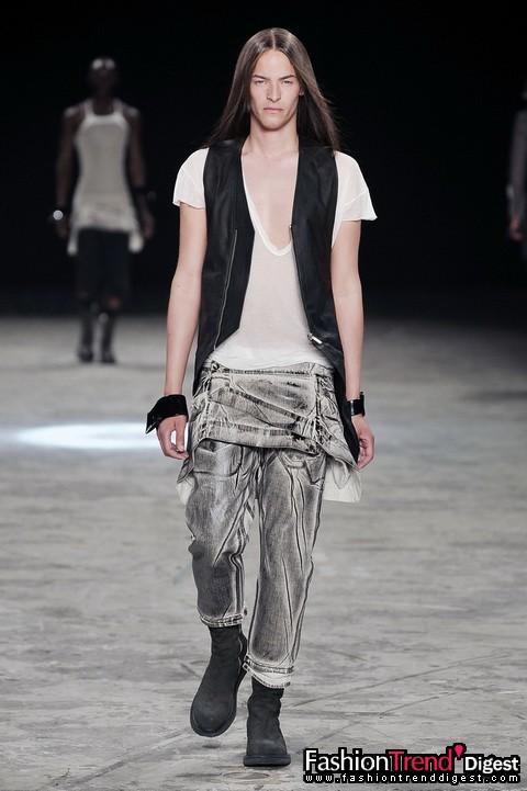 设计师rick owens和10春夏男装系列
