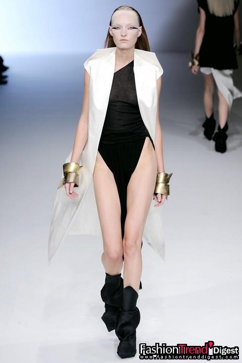 rick owens 2010春夏女装系列
