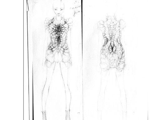 iris van herpen将高级定制服装秀看做是创新的最好舞台,她的设计