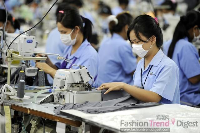 服装 资源/工资的上涨,劳动力资源的短缺,以及来自邻近国家的强大竞争对...
