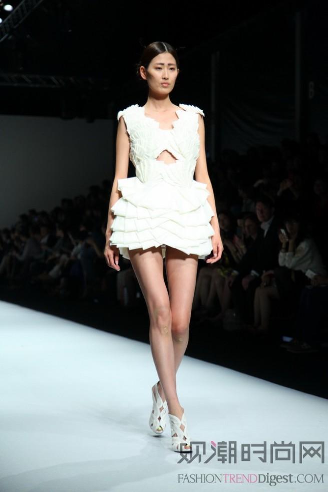中法埃菲时装设计师学院登陆2013秋季上海时装周