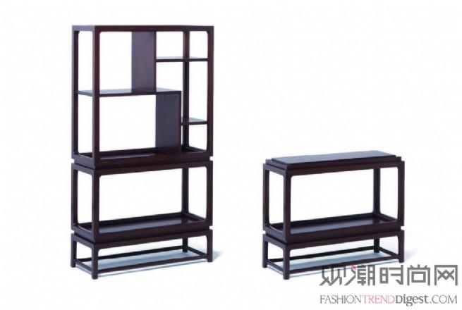 """""""大天地""""系列胡桃木博古架"""