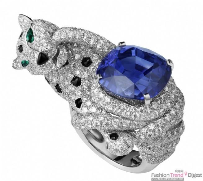 戒指宝石手绘图