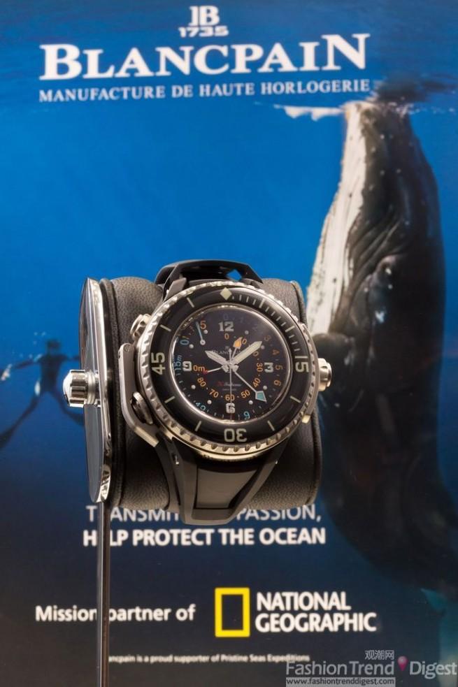 深海 传奇Blancpain...
