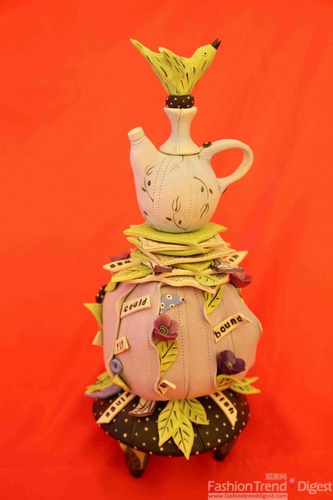 粘土作品图片茶壶步骤图解
