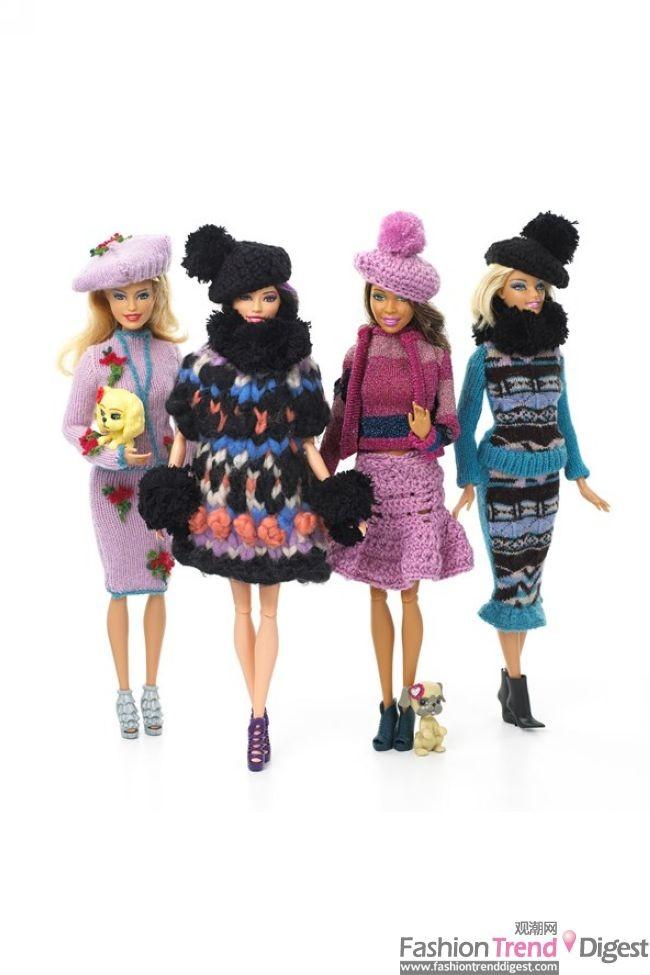 芭比娃娃的伦敦造型