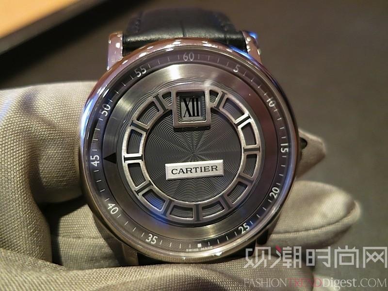 卡地亚高级腕表实拍
