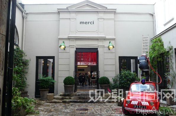 从巴黎玛黑区走出的时尚品牌