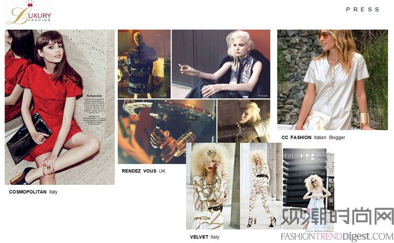 DFO SHOWROOM 2015春夏品牌介绍―― CONTEMPORARY篇
