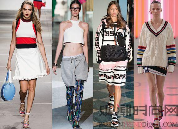 2015春夏时尚潮流趋势之一...