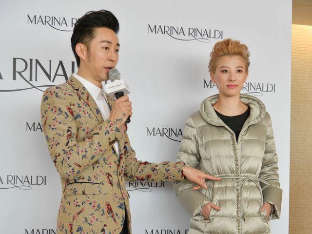上海 rinaldi/意大利著名女装品牌MARINA RINALDI在上海国金发布2014年秋冬...