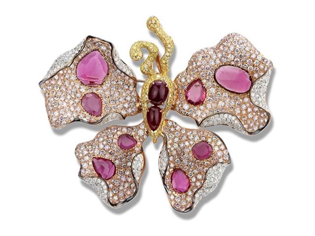 欲飘欲仙 15款蝴蝶珠宝真是美到窒息