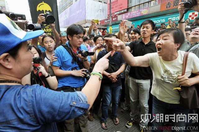 香港占中运动对零售商造成影响