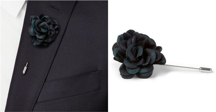 胸花与方巾的佩戴方式你知道吗?