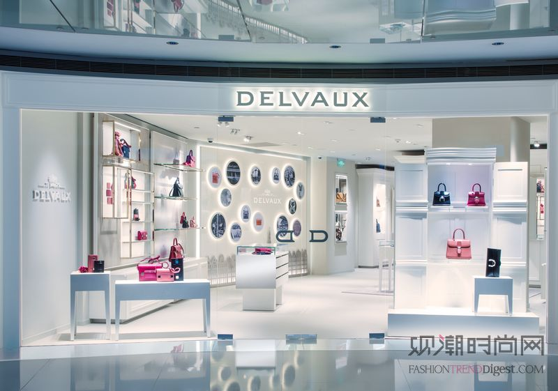 Delvaux进驻上海心脏地带