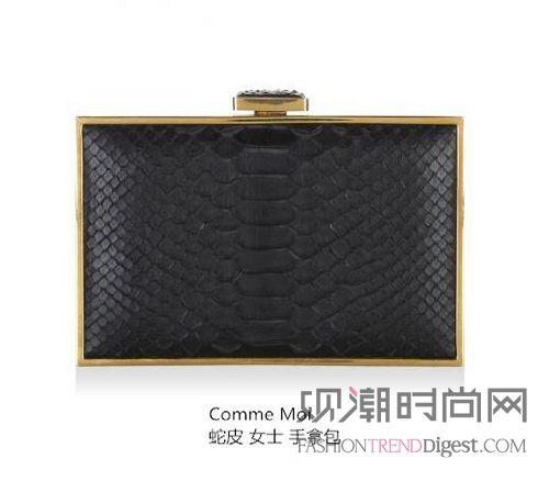 美西时尚携手吕燕推出限量圣诞手包