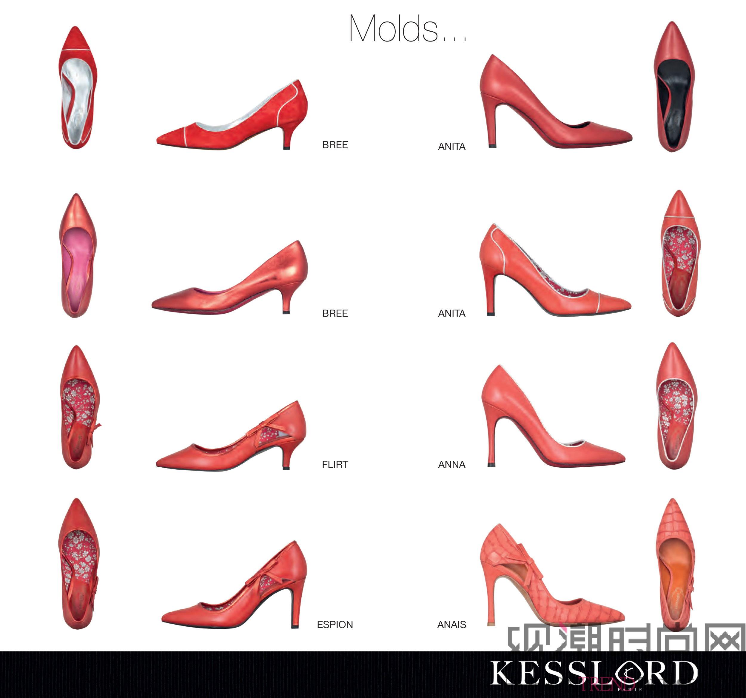 Kesslord高跟鞋的专属定制