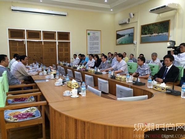 聚焦缅甸服装业――中国纺织服装企业家代表团访问缅甸
