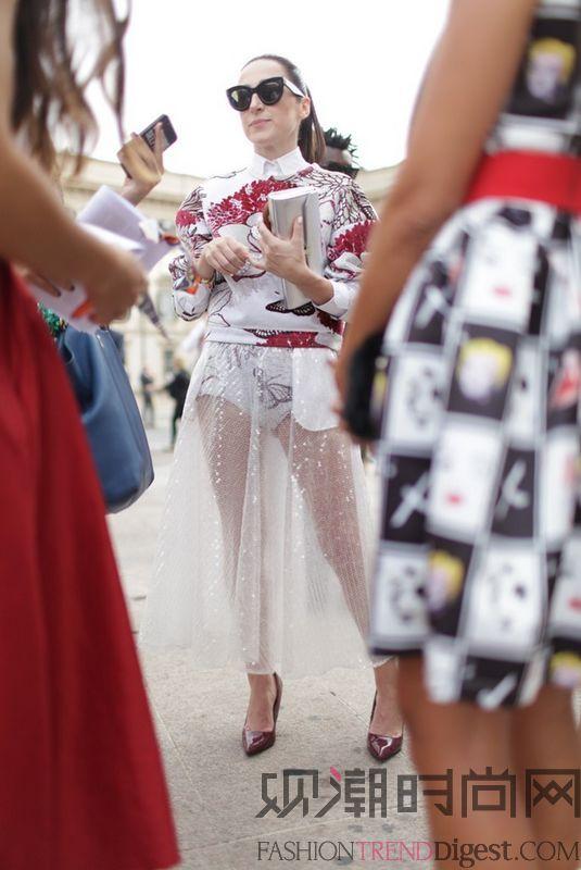2015春夏米兰时装周街拍(上)