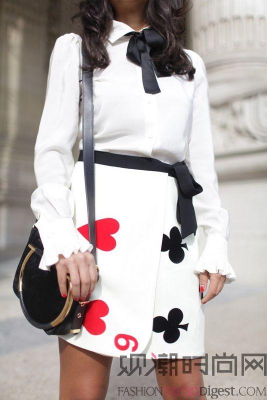 2015春夏巴黎时装周街拍(上)