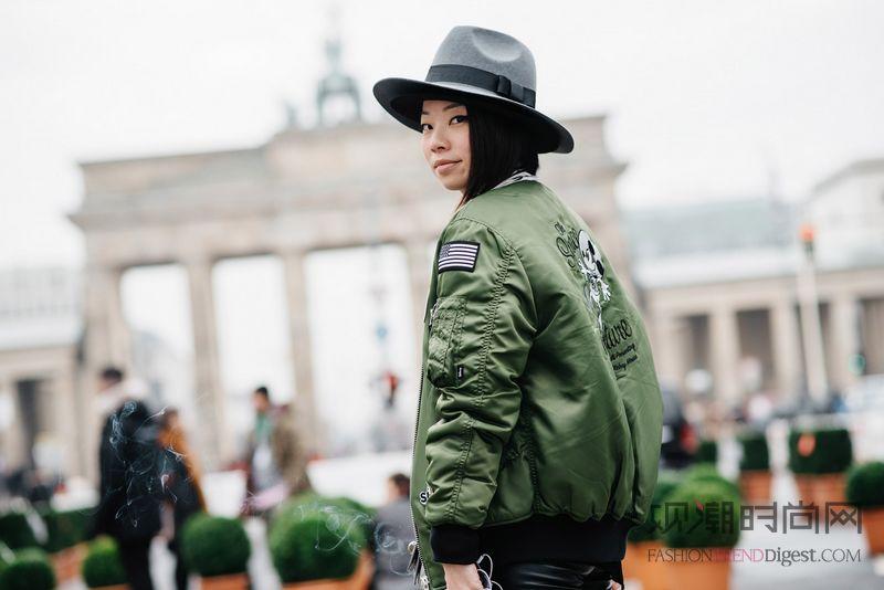 柏林时装周街拍——只做最真实的自己