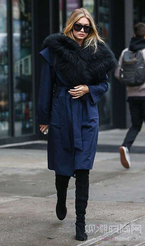 Gigi Hadid:微胖也...