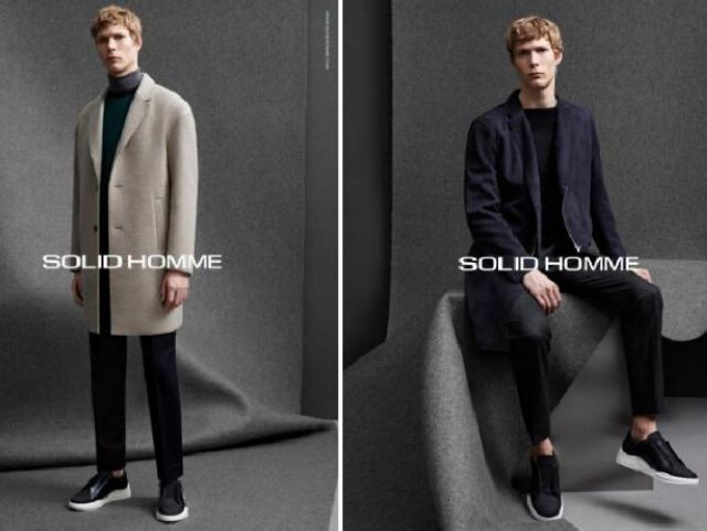 Solid Homme 2015秋冬系列