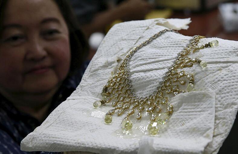 菲律宾政府展示前第一夫人被充...