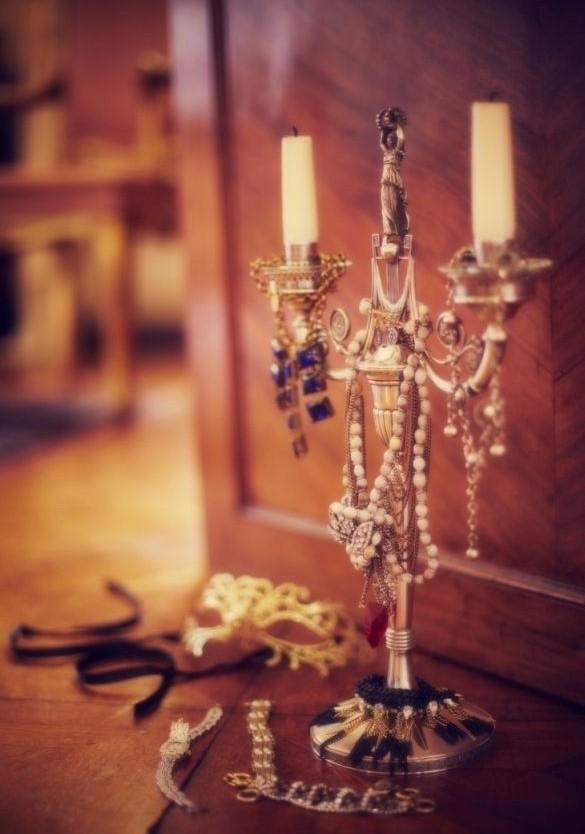 用最精致的方式将珠宝首饰收藏